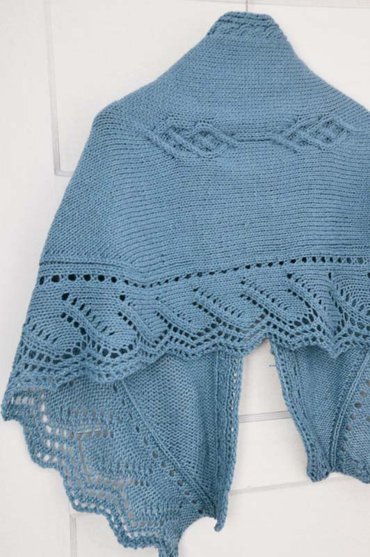 Hilton's Edge Shawl