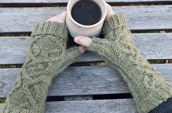Ceilidh Fingerless Gloves