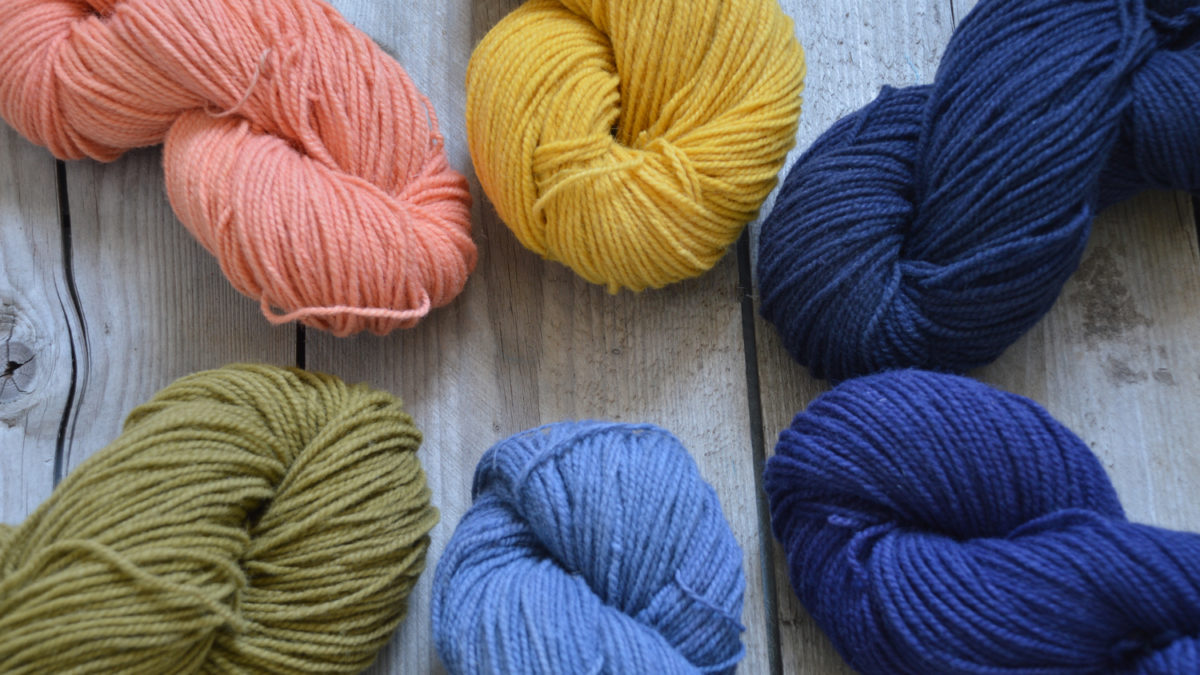 Natural Dyeing: A Study of 3 Plants